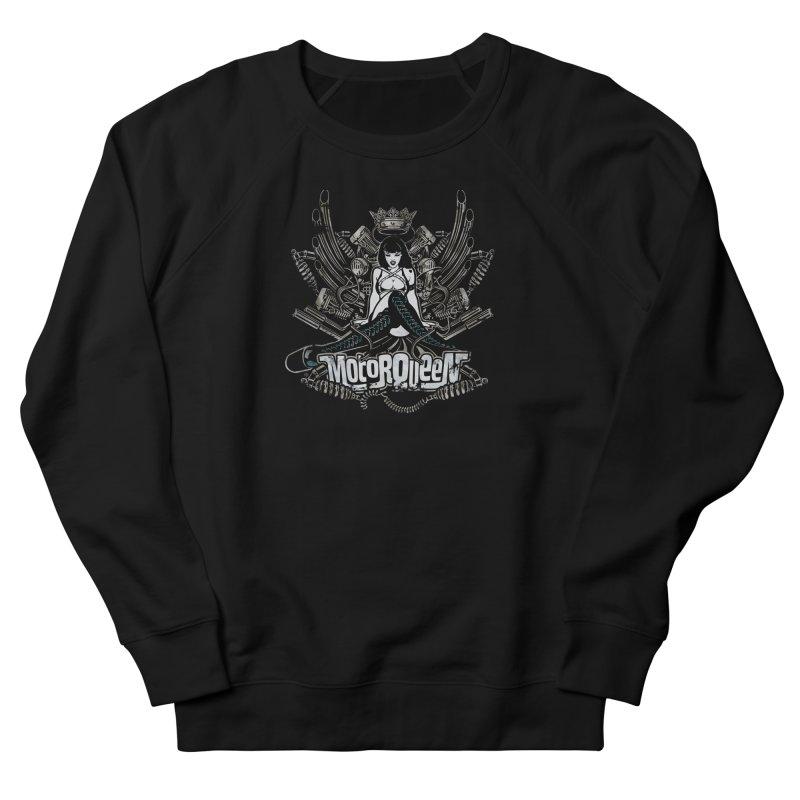 """""""Motorqueen"""": our undisputed Queen of engines! Women's Sweatshirt by Pinupart.it - Mad Mac Art"""