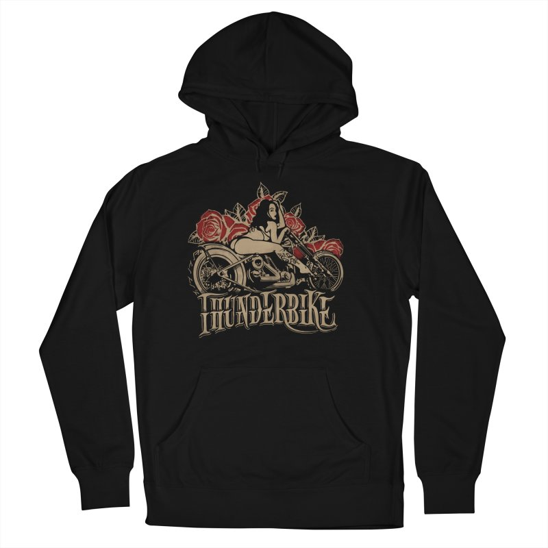 """""""Thunder bike"""": powerful as a thunder! Women's French Terry Pullover Hoody by Pinupart.it - Mad Mac"""