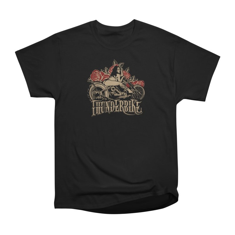 """Thunder bike"": powerful as a thunder! Women's T-Shirt by Pinupart.it - Mad Mac Art"