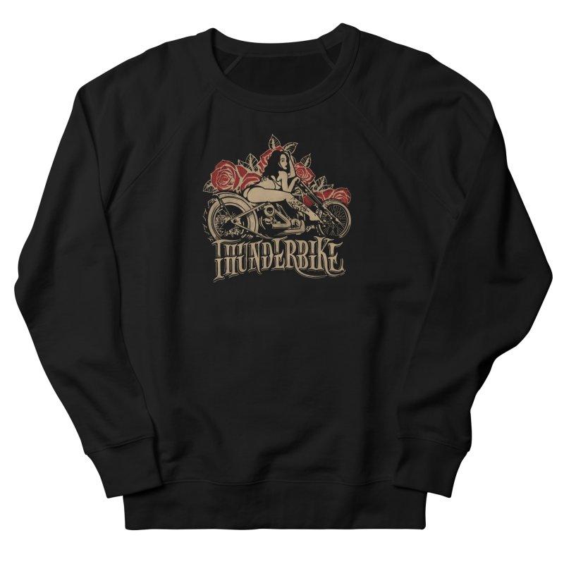 """Thunder bike"": powerful as a thunder! Women's Sweatshirt by Pinupart.it - Mad Mac Art"
