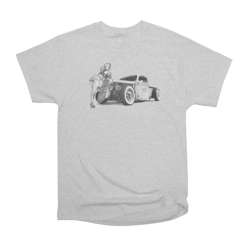 """""""Hot Rod and Tattoo"""": a cool mix! Men's T-Shirt by Pinupart.it - Mad Mac Art"""