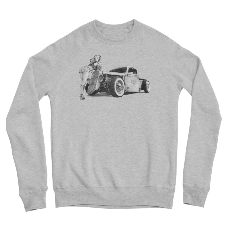 """Hot Rod and Tattoo"": a cool mix! Men's Sweatshirt by Pinupart.it - Mad Mac Art"