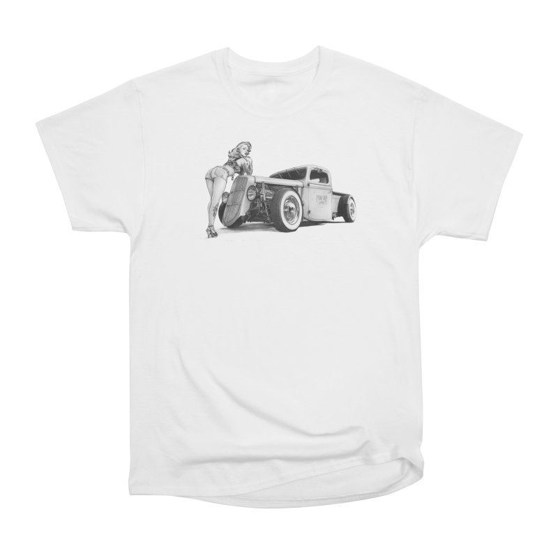 """Hot Rod and Tattoo"": a cool mix! Women's T-Shirt by Pinupart.it - Mad Mac Art"