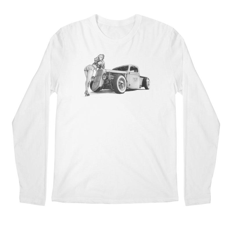 """Hot Rod and Tattoo"": a cool mix! Men's Regular Longsleeve T-Shirt by Pinupart.it - Mad Mac"