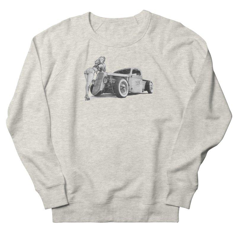 """Hot Rod and Tattoo"": a cool mix! Men's Sweatshirt by Pinupart.it - Mad Mac Art"