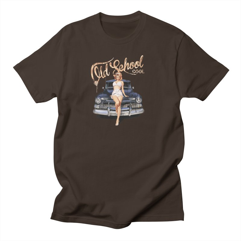 """""""Old School Cool"""": always cool classic! Men's T-Shirt by Pinupart.it - Mad Mac Art"""