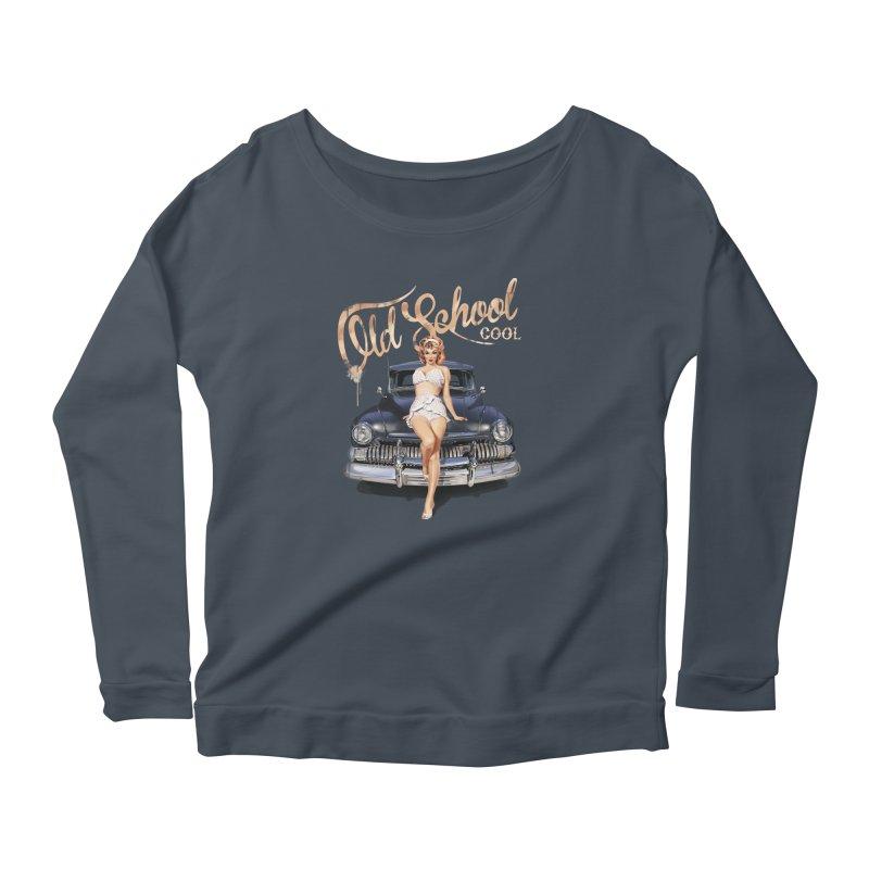 """Old School Cool"": always cool classic! Women's Longsleeve T-Shirt by Pinupart.it - Mad Mac Art"