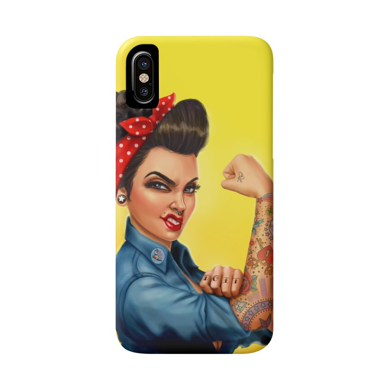 Rosie The Riveter Accessories Phone Case by Pinup Bombshells Artist Shop