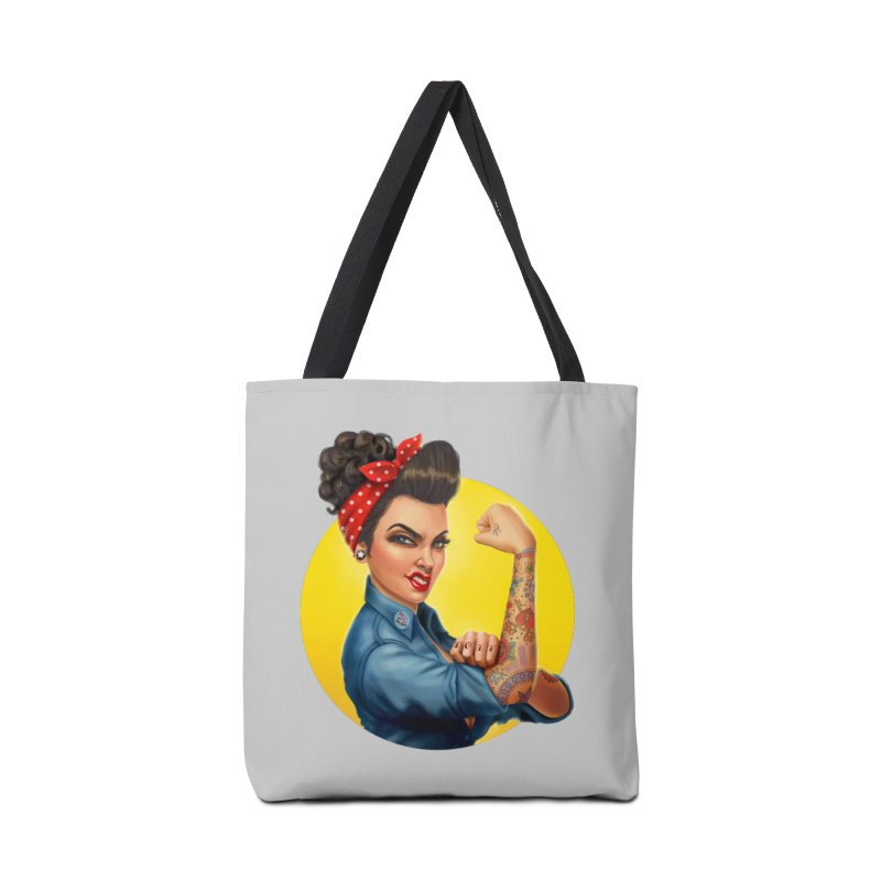 Rosie The Riveter Accessories Bag by Pinup Bombshells Artist Shop