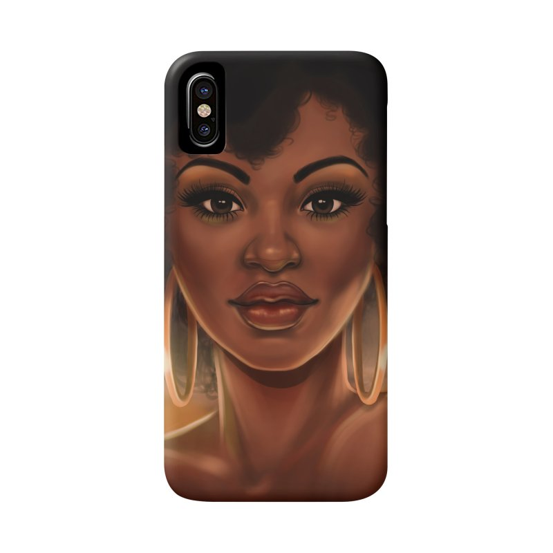 Shandra Accessories Phone Case by Pinup Bombshells Artist Shop