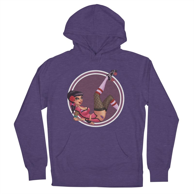 Lotta Payne Men's Pullover Hoody by Pinup Bombshells Artist Shop