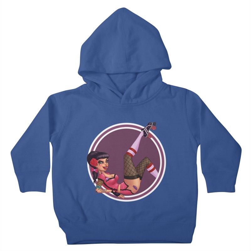 Lotta Payne Kids Toddler Pullover Hoody by Pinup Bombshells Artist Shop