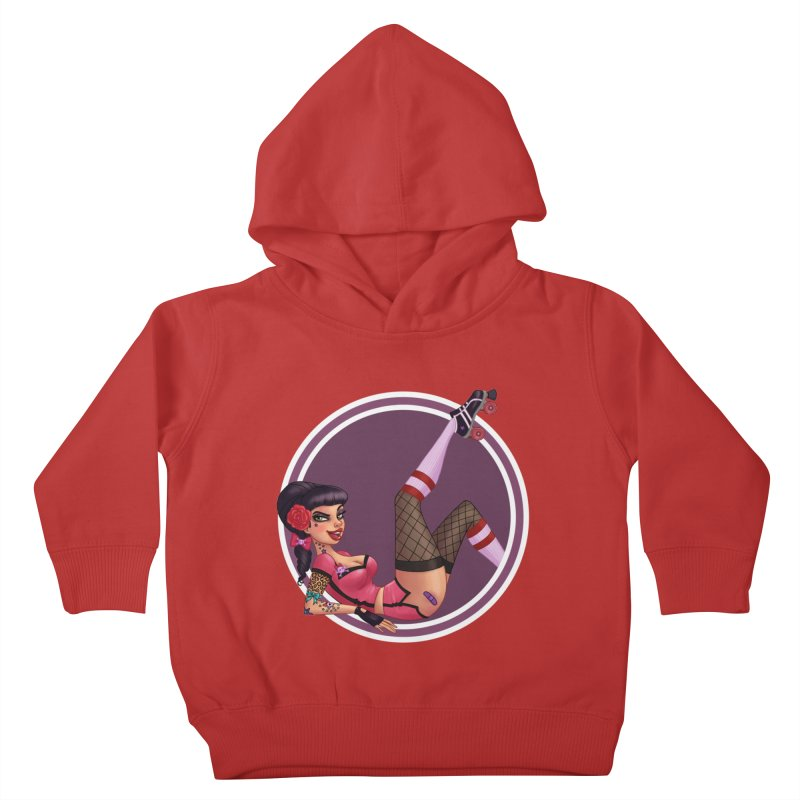 Lotta Payne Kids Toddler Pullover Hoody by Pinup Bombshells Artist Shop
