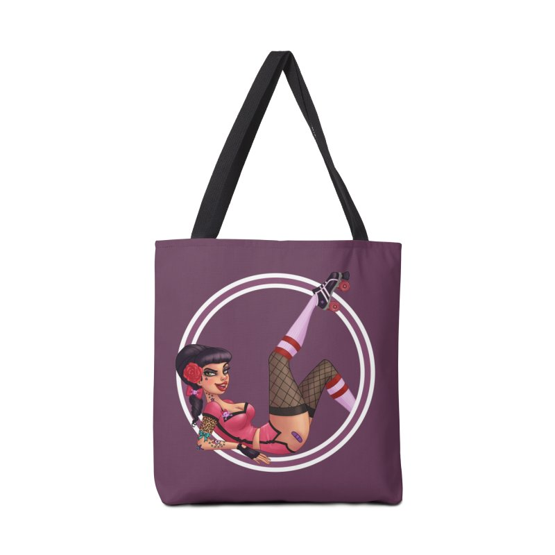 Lotta Payne Accessories Bag by Pinup Bombshells Artist Shop