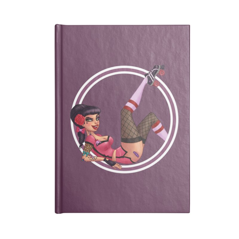 Lotta Payne Accessories Notebook by Pinup Bombshells Artist Shop