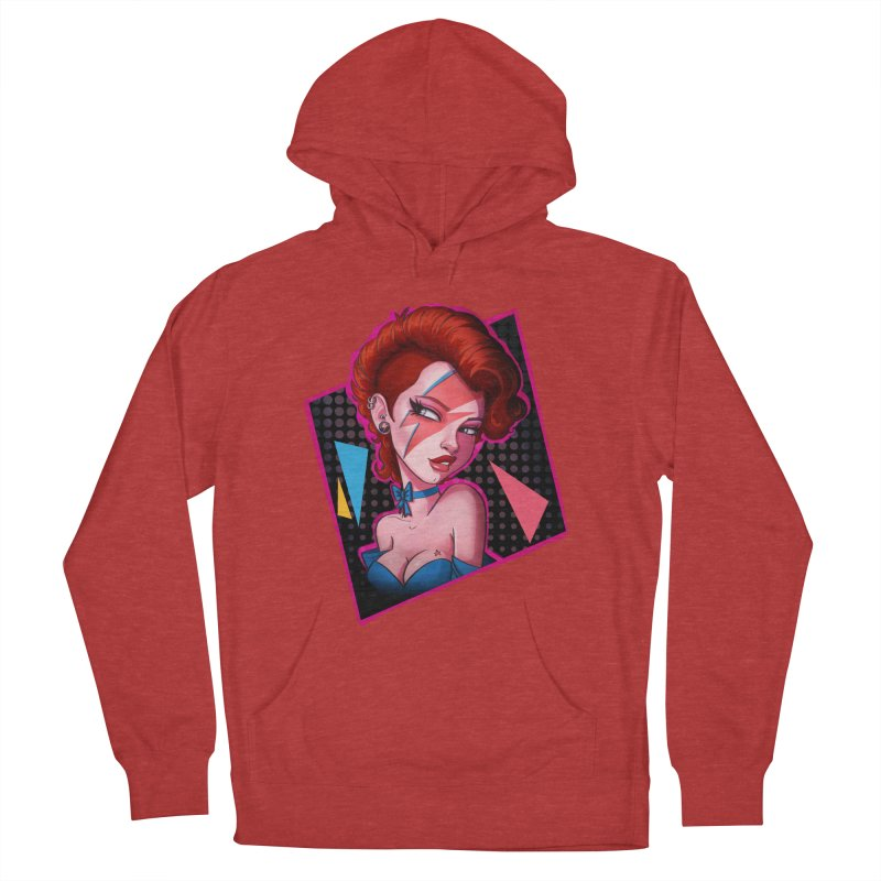 Ziggy Women's Pullover Hoody by Pinup Bombshells Artist Shop