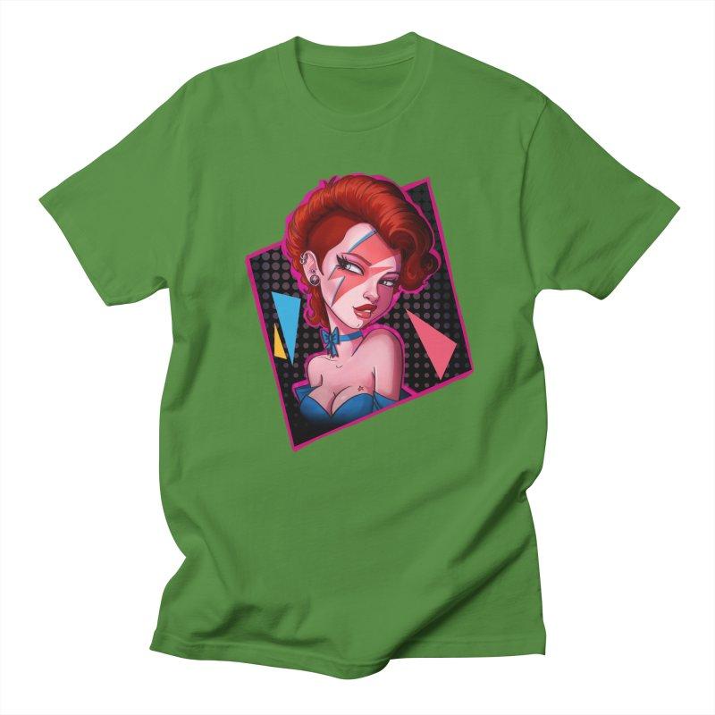 Ziggy Men's T-Shirt by Pinup Bombshells Artist Shop