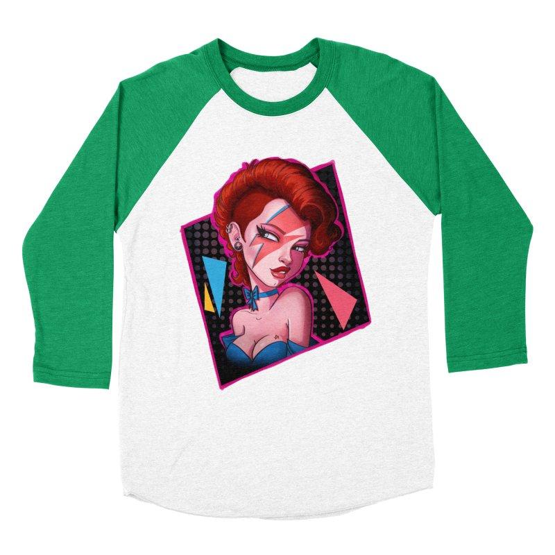 Ziggy Women's Baseball Triblend T-Shirt by Pinup Bombshells Artist Shop