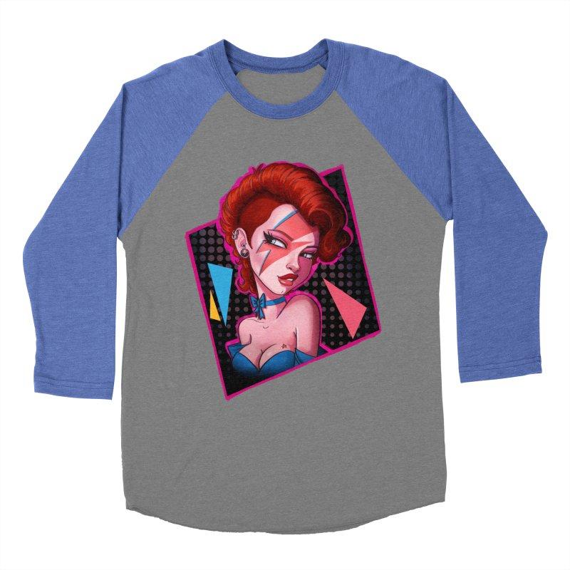 Ziggy Men's Baseball Triblend T-Shirt by Pinup Bombshells Artist Shop