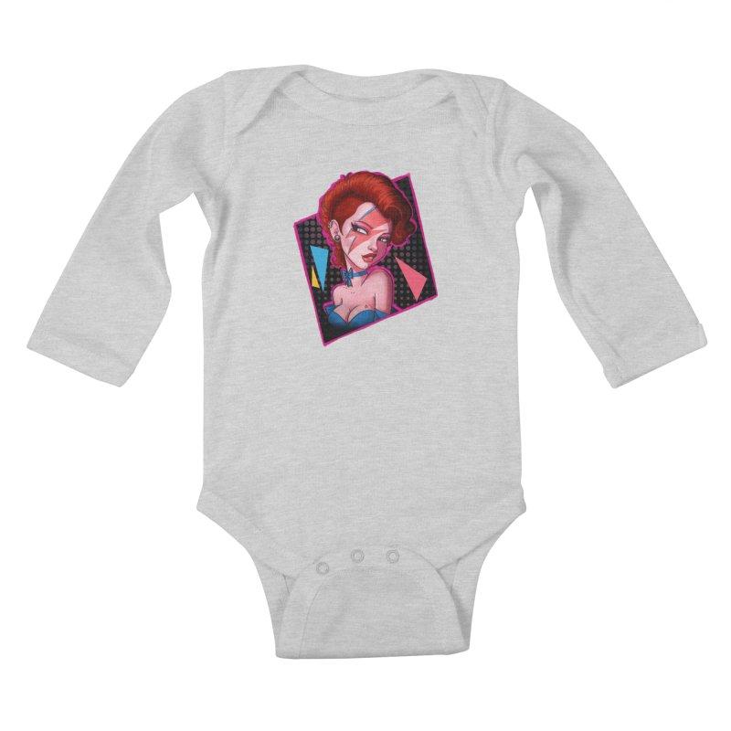 Ziggy Kids Baby Longsleeve Bodysuit by Pinup Bombshells Artist Shop