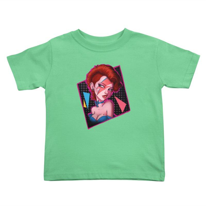 Ziggy Kids Toddler T-Shirt by Pinup Bombshells Artist Shop