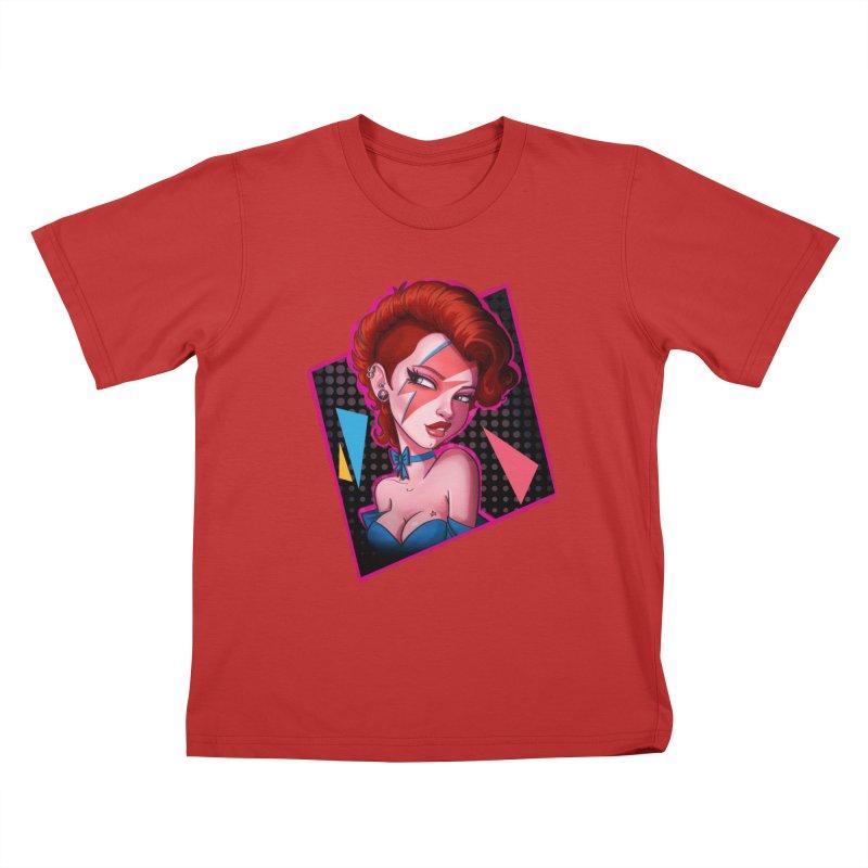 Ziggy Kids T-shirt by Pinup Bombshells Artist Shop