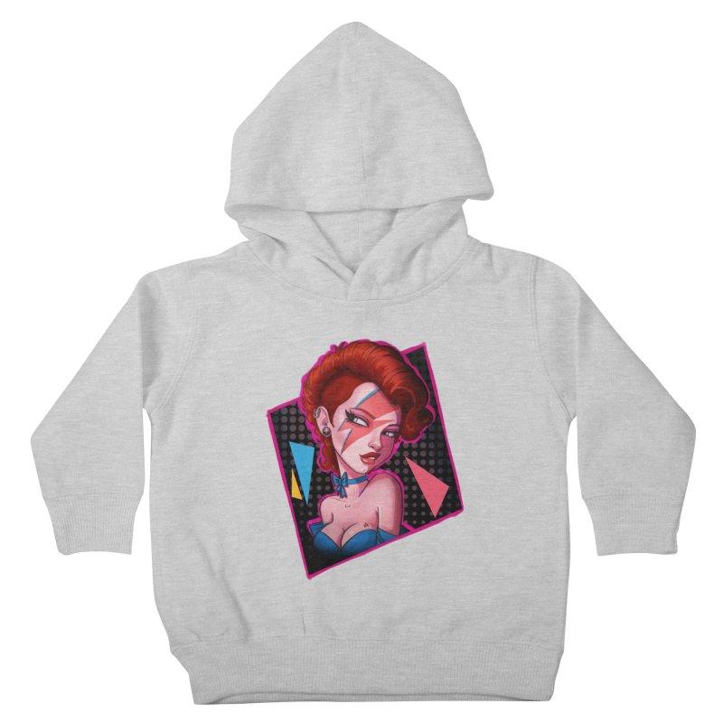 Ziggy Kids Toddler Pullover Hoody by Pinup Bombshells Artist Shop