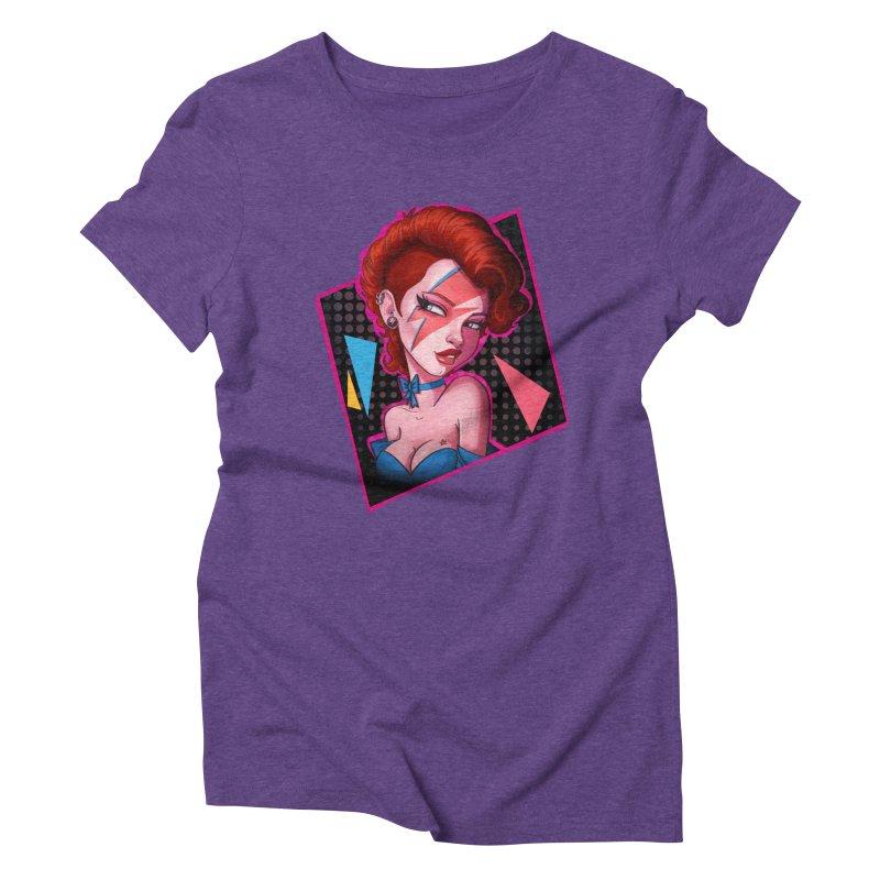 Ziggy Women's Triblend T-Shirt by Pinup Bombshells Artist Shop