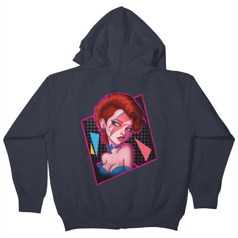 Ziggy Kids Zip-Up Hoody by Pinup Bombshells Artist Shop