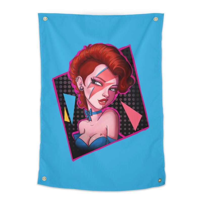 Ziggy Home Tapestry by Pinup Bombshells Artist Shop