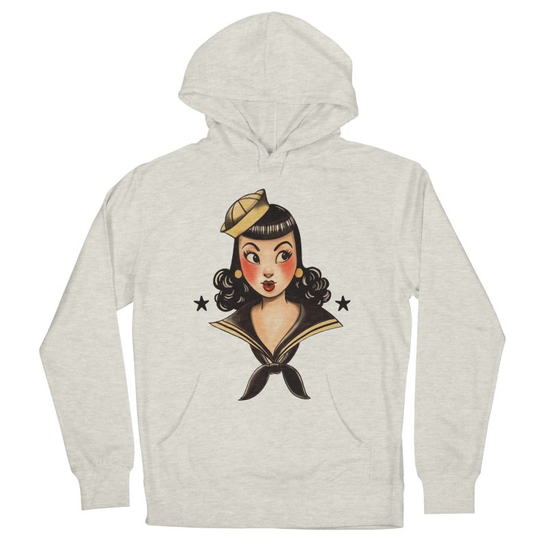 Sailor Jerry Tribute Women's Pullover Hoody by Pinup Bombshells Artist Shop