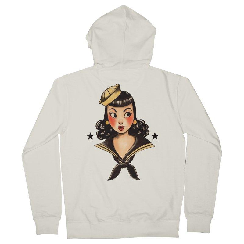 Sailor Jerry Tribute Women's Zip-Up Hoody by Pinup Bombshells Artist Shop