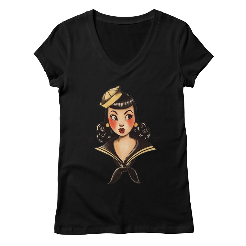 Sailor Jerry Tribute   by Pinup Bombshells Artist Shop