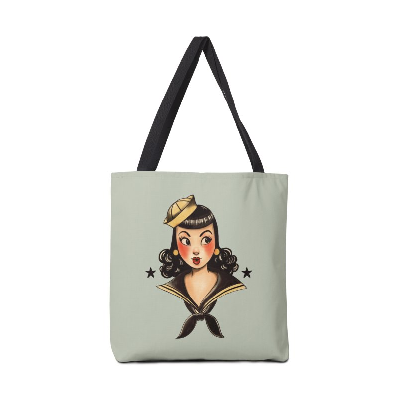 Sailor Jerry Tribute Accessories Bag by Pinup Bombshells Artist Shop