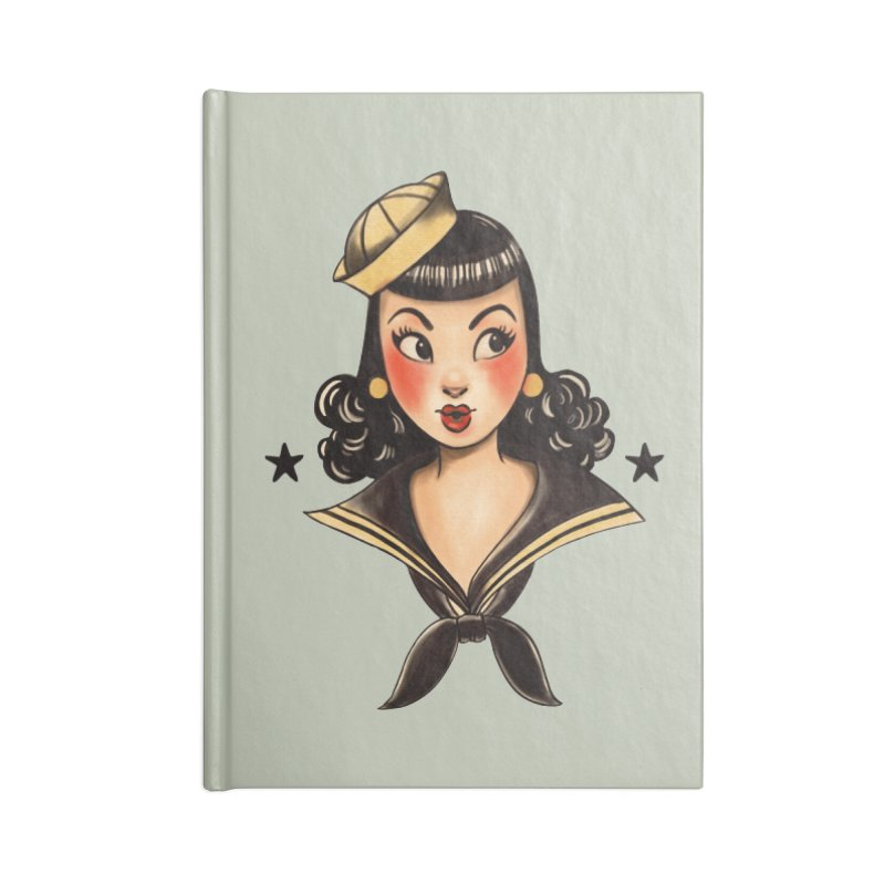 Sailor Jerry Tribute Accessories Notebook by Pinup Bombshells Artist Shop