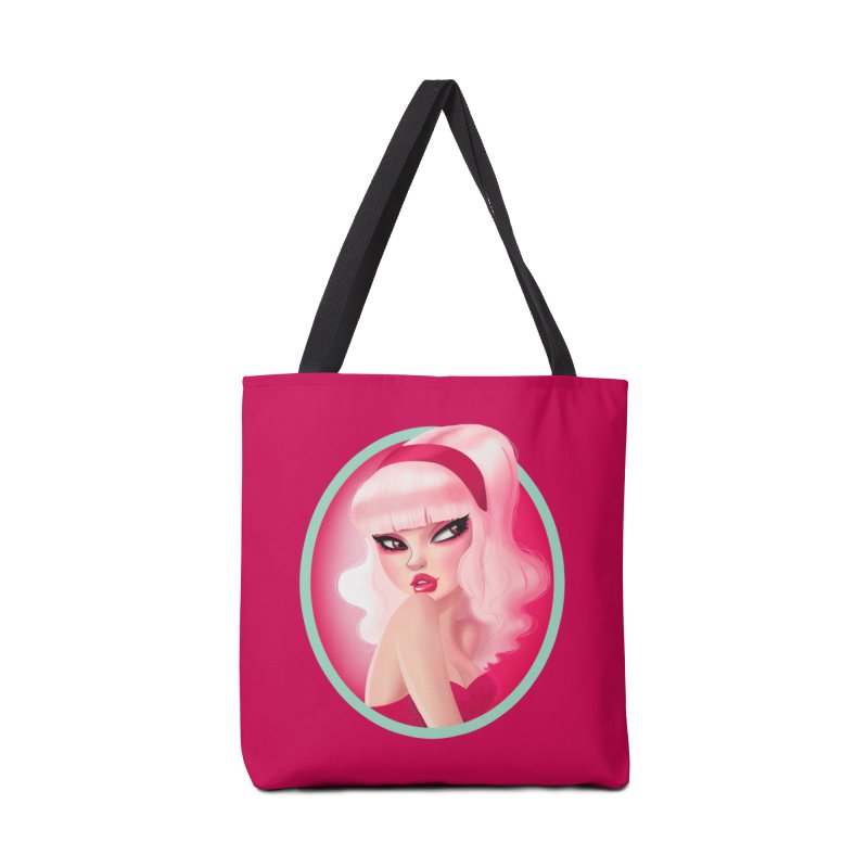Miss Kandy Floss Accessories Bag by Pinup Bombshells Artist Shop