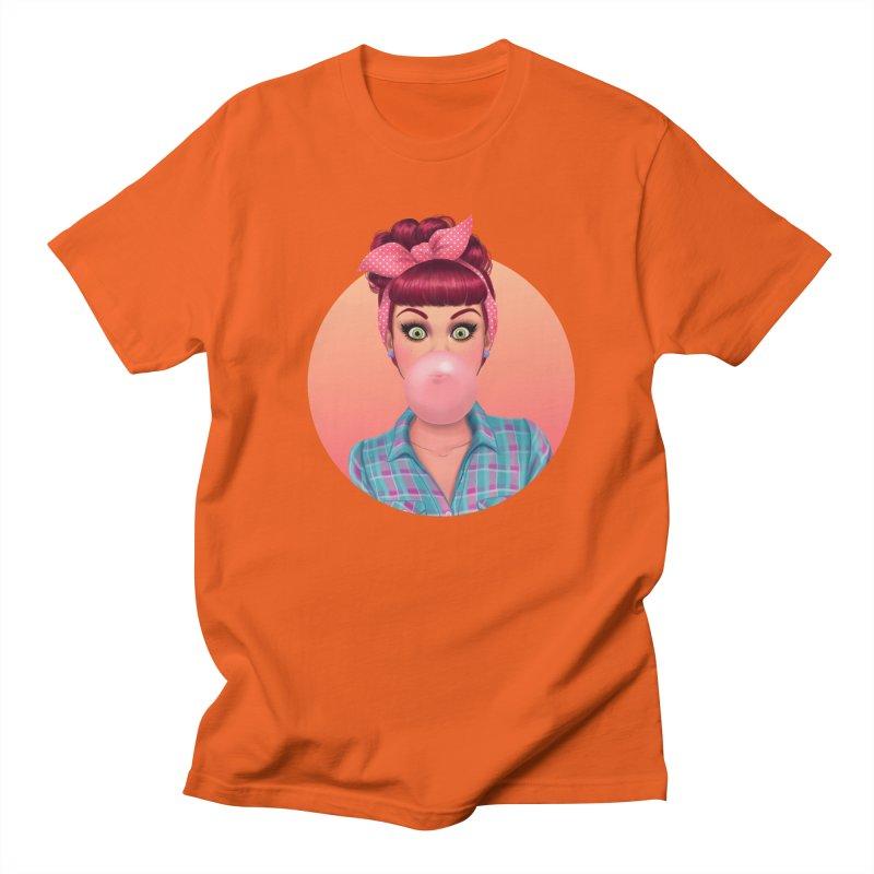 Bex Men's T-shirt by Pinup Bombshells Artist Shop