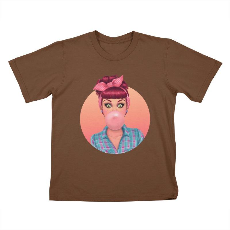 Bex Kids T-shirt by Pinup Bombshells Artist Shop