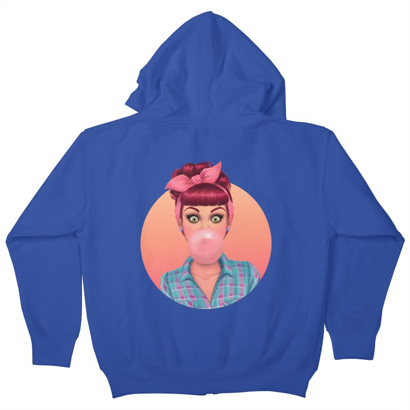 Bex Kids Zip-Up Hoody by Pinup Bombshells Artist Shop