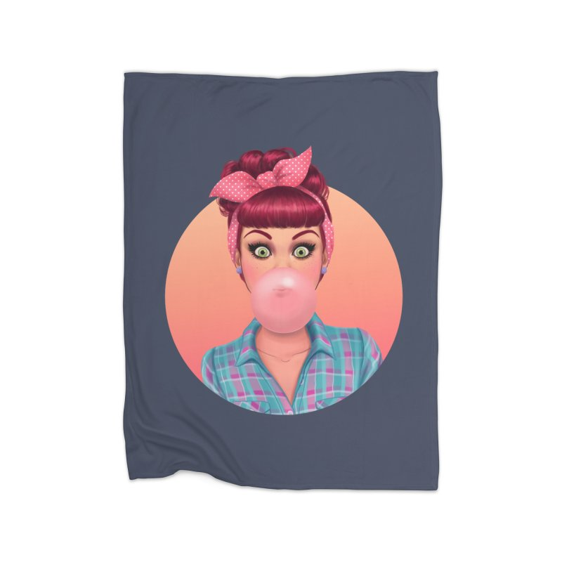 Bex Home Blanket by Pinup Bombshells Artist Shop