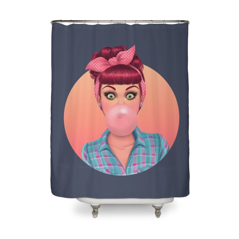 Bex Home Shower Curtain by Pinup Bombshells Artist Shop