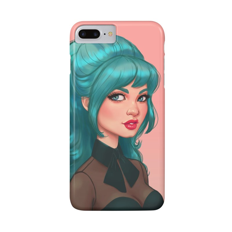 Bardot Vibes Accessories Phone Case by Pinup Bombshells Artist Shop