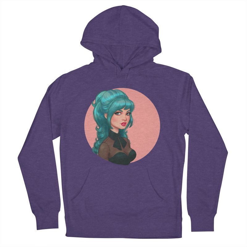 Bardot Vibes Women's Pullover Hoody by Pinup Bombshells Artist Shop