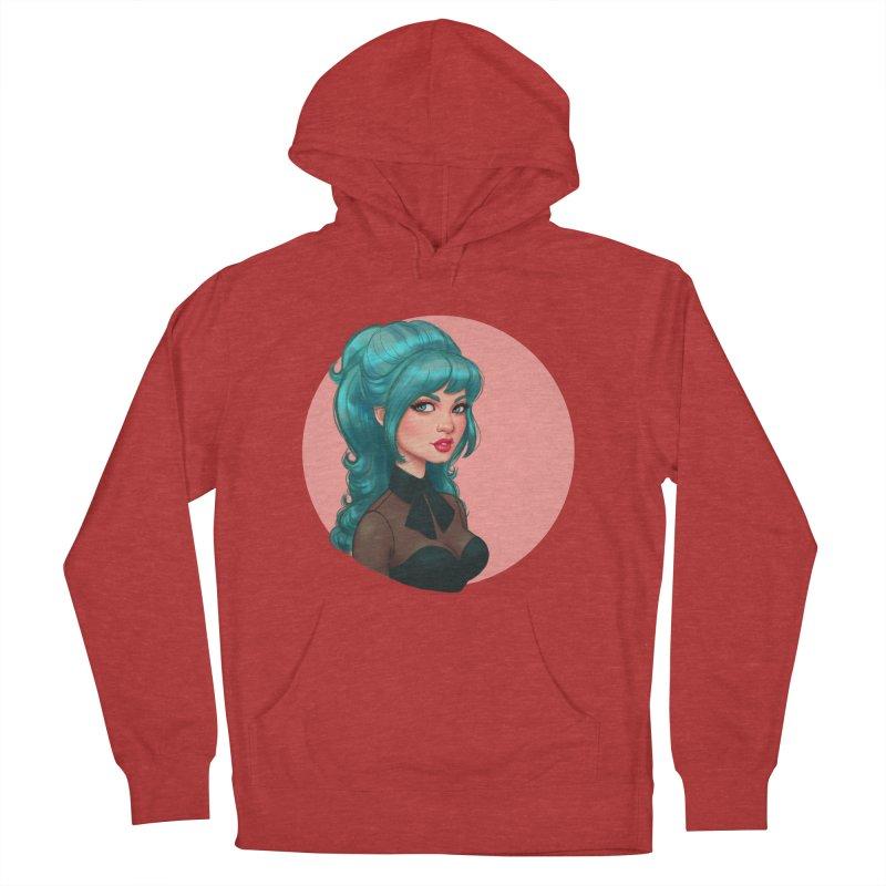Bardot Vibes Women's Pullover Hoody by Pinup Bombshells Artist Shop