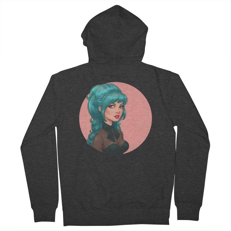 Bardot Vibes Women's Zip-Up Hoody by Pinup Bombshells Artist Shop