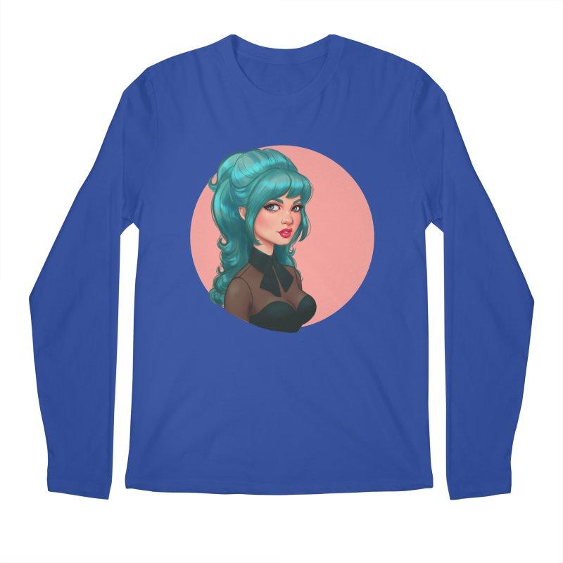 Bardot Vibes Men's Longsleeve T-Shirt by Pinup Bombshells Artist Shop
