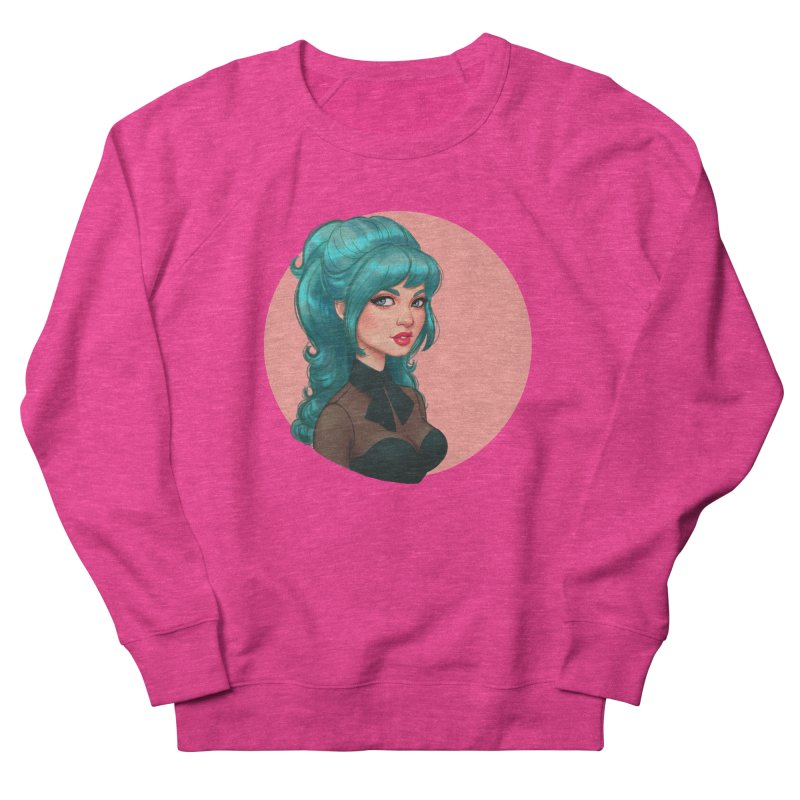 Bardot Vibes Women's Sweatshirt by Pinup Bombshells Artist Shop