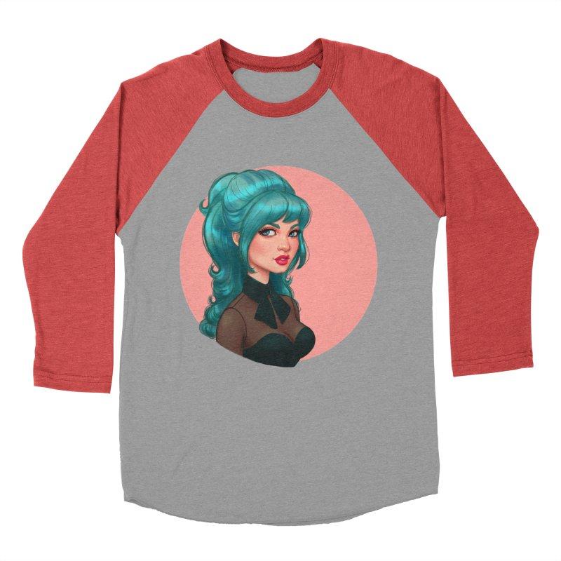 Bardot Vibes Women's Baseball Triblend T-Shirt by Pinup Bombshells Artist Shop