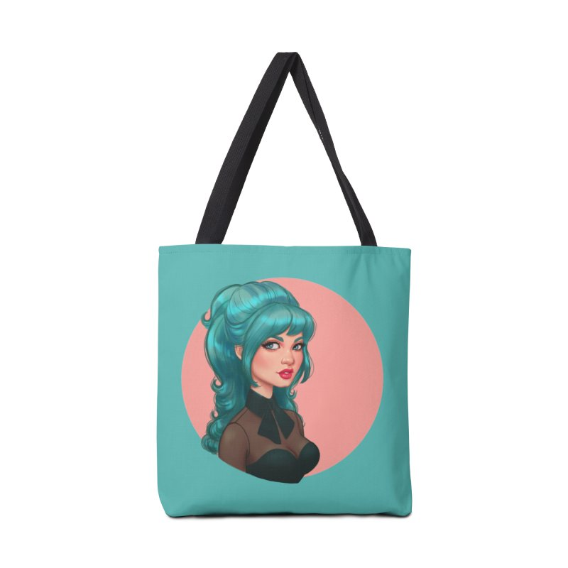 Bardot Vibes Accessories Bag by Pinup Bombshells Artist Shop