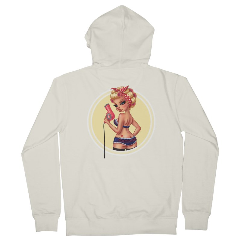 Alexis Dean Women's Zip-Up Hoody by Pinup Bombshells Artist Shop